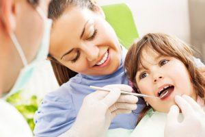 children's dental appointment