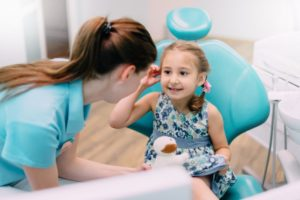 Child's first dental visit with Castle Rock pediatric dentist